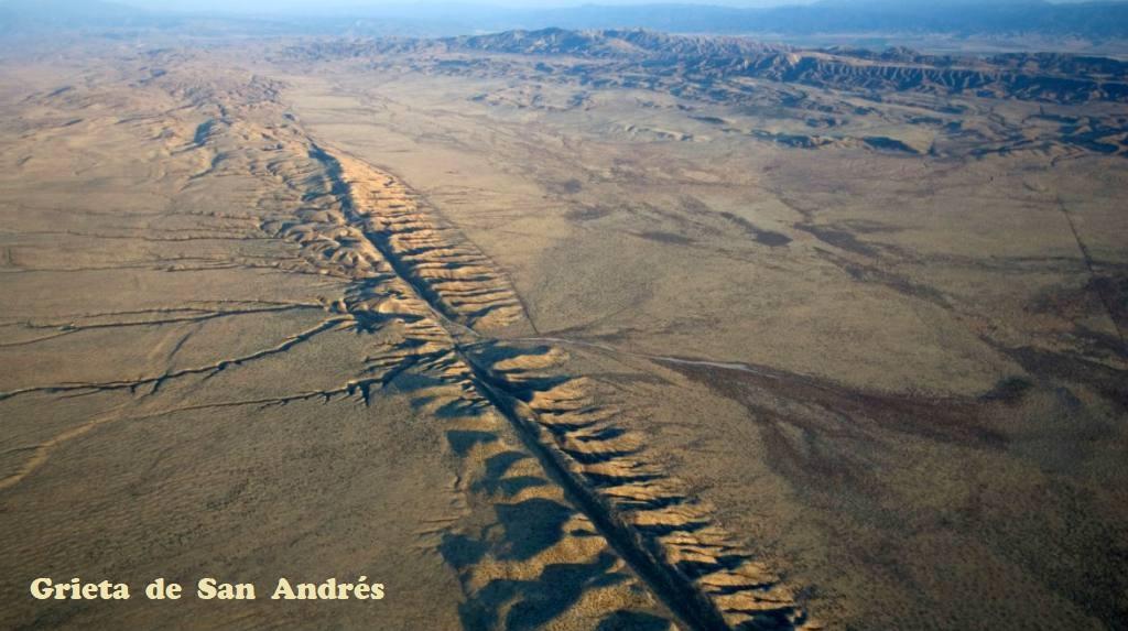 • Un DEVASTADOR TERREMOTO en California para 2030 es posible... Grieta10