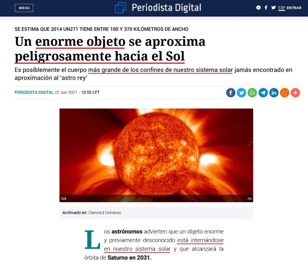 • Un enorme objeto se aproxima peligrosamente hacia el Sol... - Página 2 Herczl28