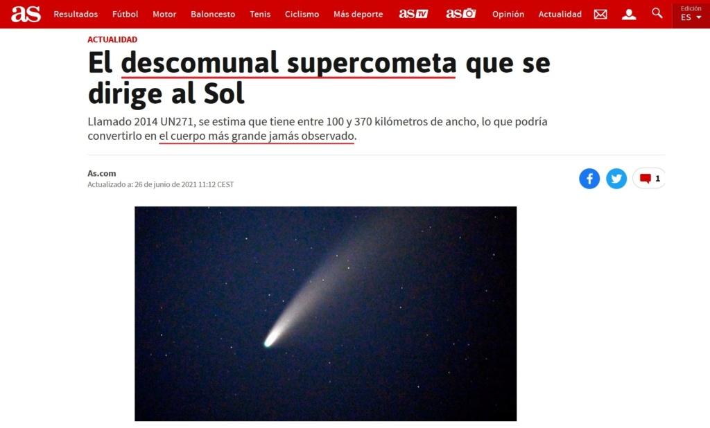 • Un enorme objeto se aproxima peligrosamente hacia el Sol... Herczl42