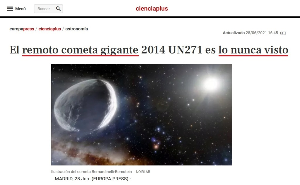 • Un enorme objeto se aproxima peligrosamente hacia el Sol... Herczl46