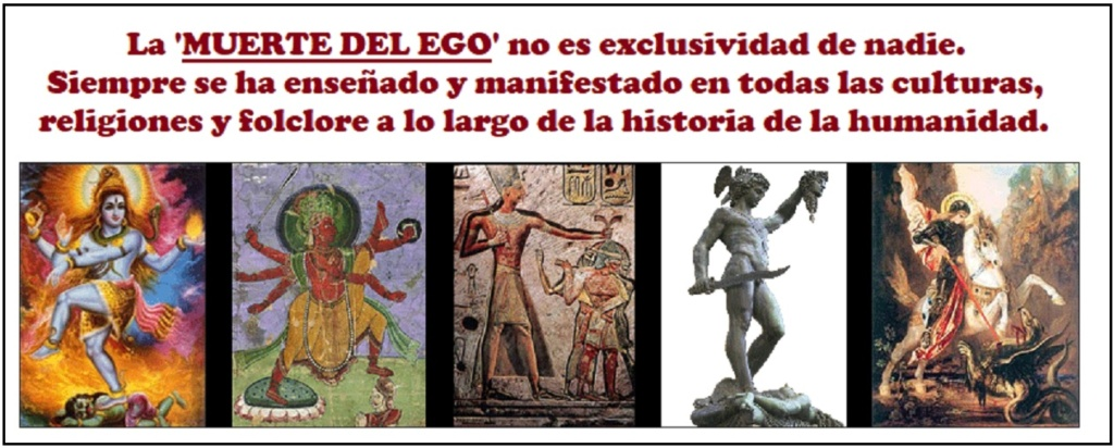 """• URGENCIA en la ELIMINACIÓN de nuestros defectos psicológicos (el """"YO PLURALIZADO"""", el """"ego"""")... Muerte25"""