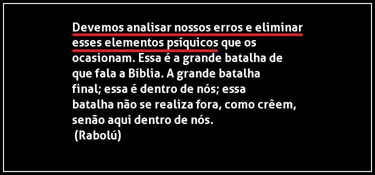 """• URGENCIA en la ELIMINACIÓN de nuestros defectos psicológicos (el """"YO PLURALIZADO"""", el """"ego"""")... Otra_f11"""