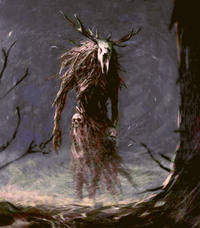 Wendigo [T: Criatura mágica] [L: Bosques y Cementerios] [D: Difícil] 1111114