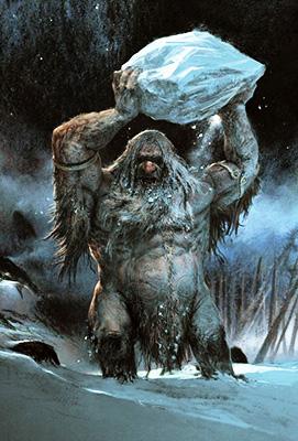 Troll de la montaña [Tipo: Fae] [Localización: Reinos del Norte] [Dificultad: Difícil] 33332210