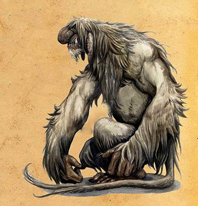 Troll de la montaña [Tipo: Fae] [Localización: Reinos del Norte] [Dificultad: Difícil] 33333321