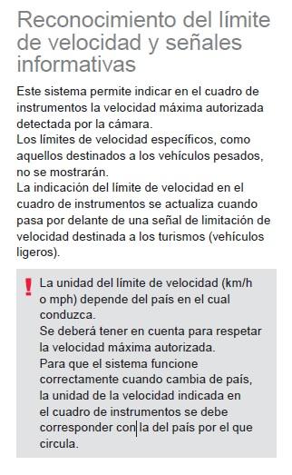 LECTOR SEÑALES DE VELOCIDAD Recono10
