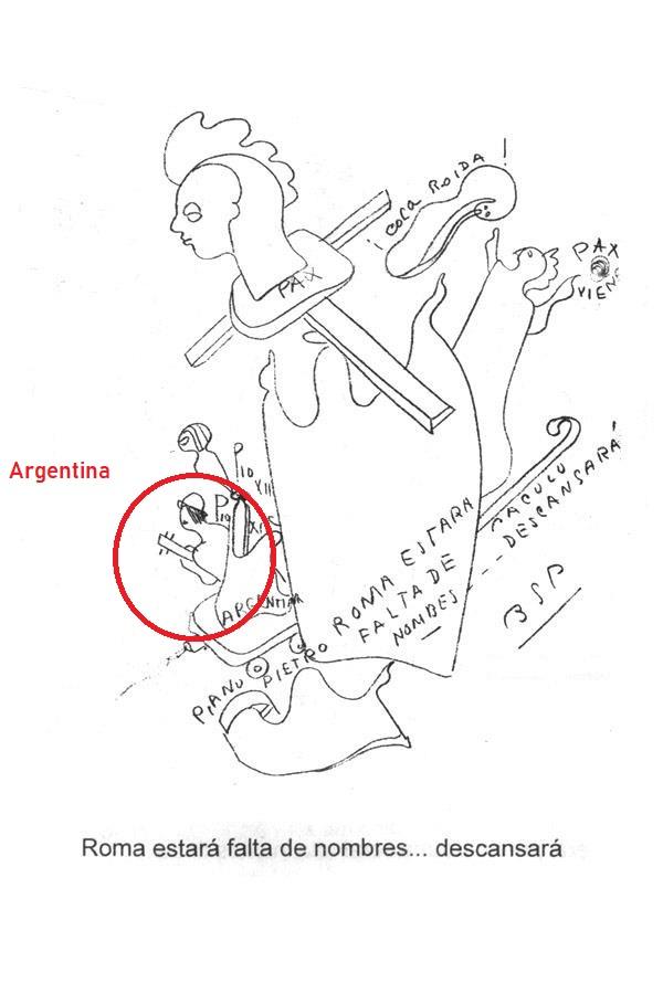 EL CARDENAL JORGE BERGOGLIO EL NUEVO PAPA. - Página 28 Argent14