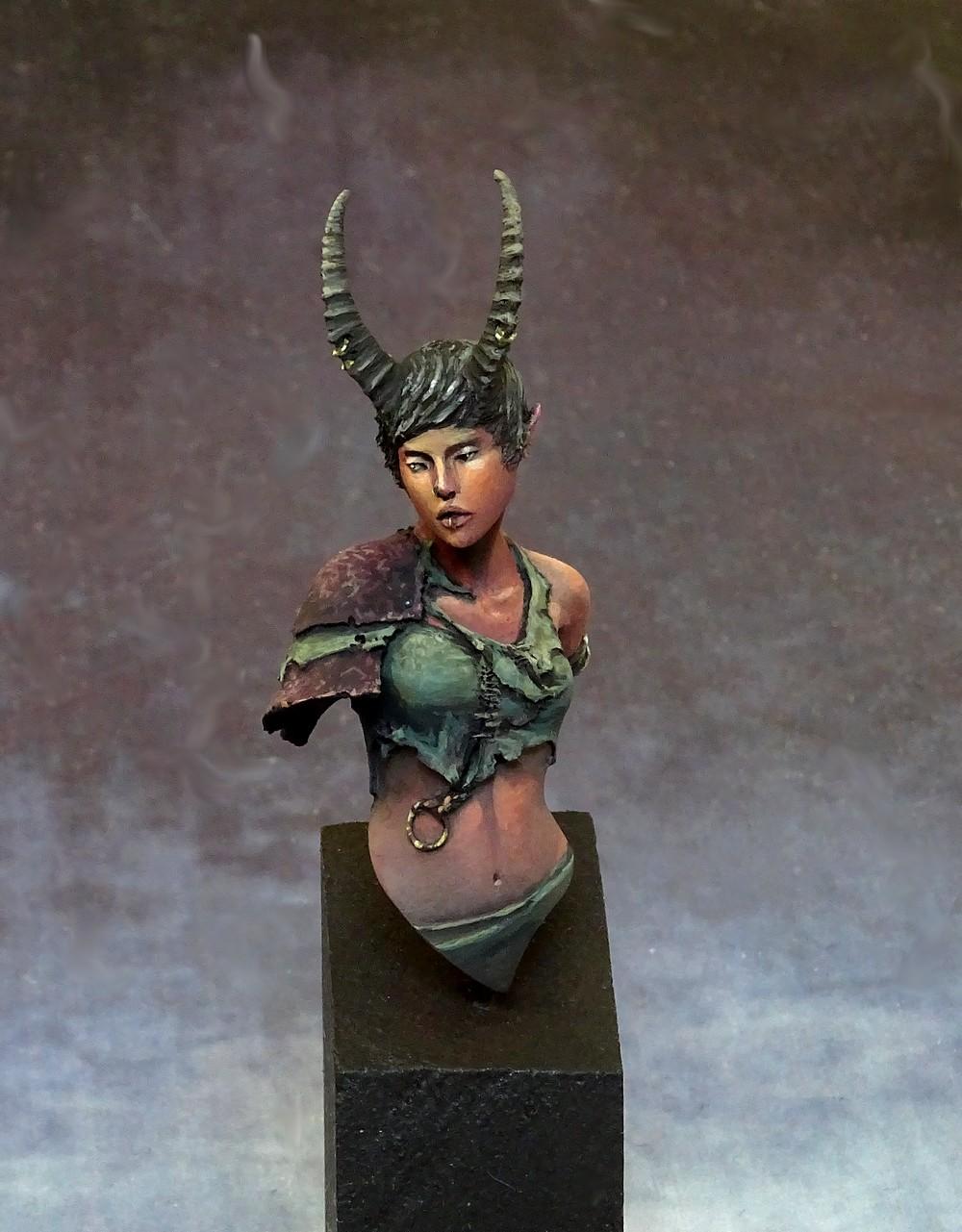 Buste Faun Woman 1/16 Origen Buste_14