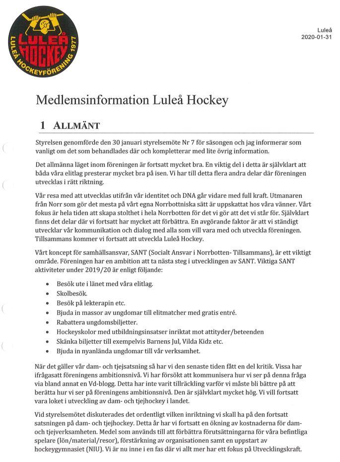 Luleå Hockeys Ledning & Ekonomi, Del 2 - Sida 18 Lhf110