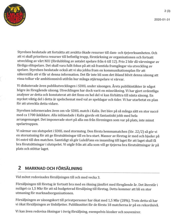 Luleå Hockeys Ledning & Ekonomi, Del 2 - Sida 18 Lhf210