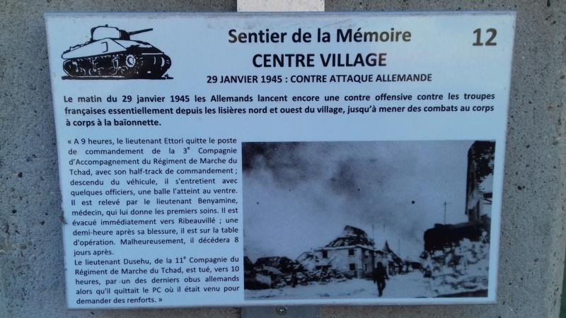 Sentier mémoire Grussenheim et moulin de Jebsheim  20190225