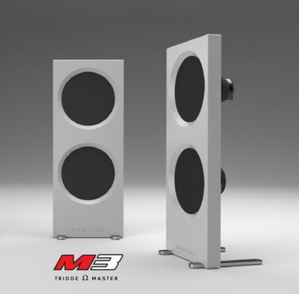 Spatial Audio Hologram M3 Triode Master Open Baffle Speaker M3trio10