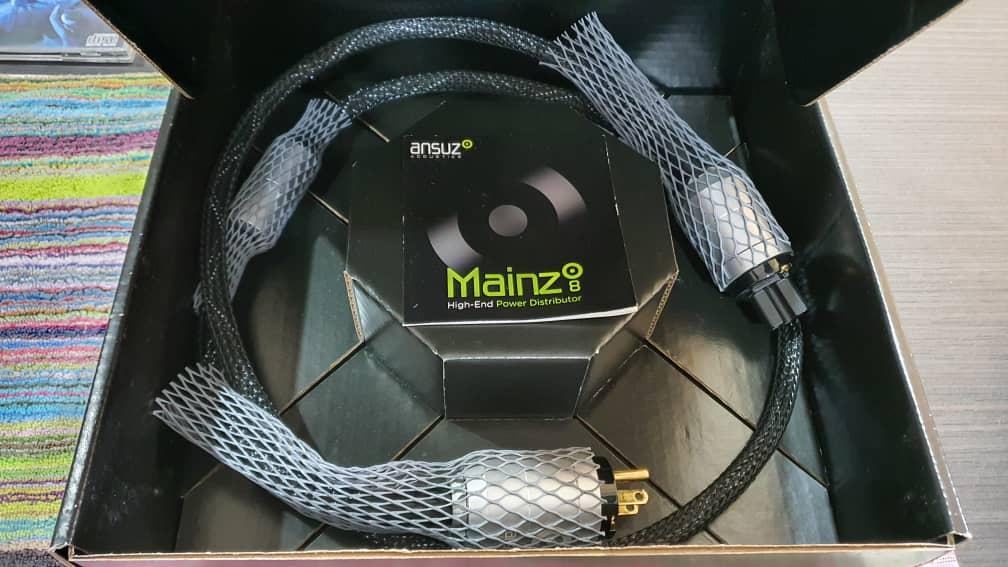 Ansuz Power Cable 1.5m Ceramic (SOLD) Whatsa16
