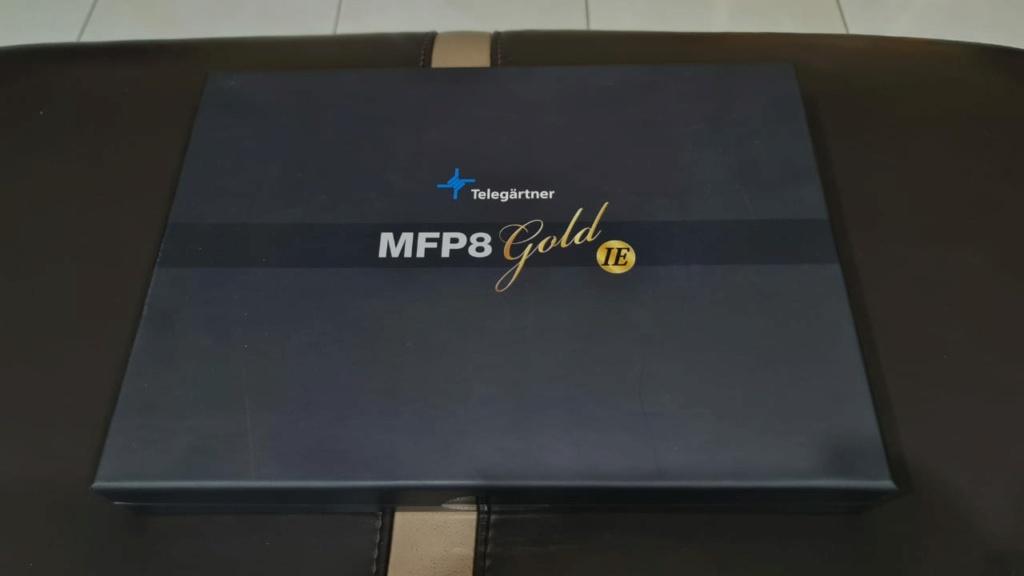 Telegartner MFP8 GOLD Ethernet Cable 1m (Used) Whatsa22