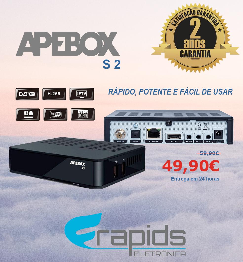APEBOX S2 - MELHOR BOX SAT, AO MELHOR PREÇO! Apebox10