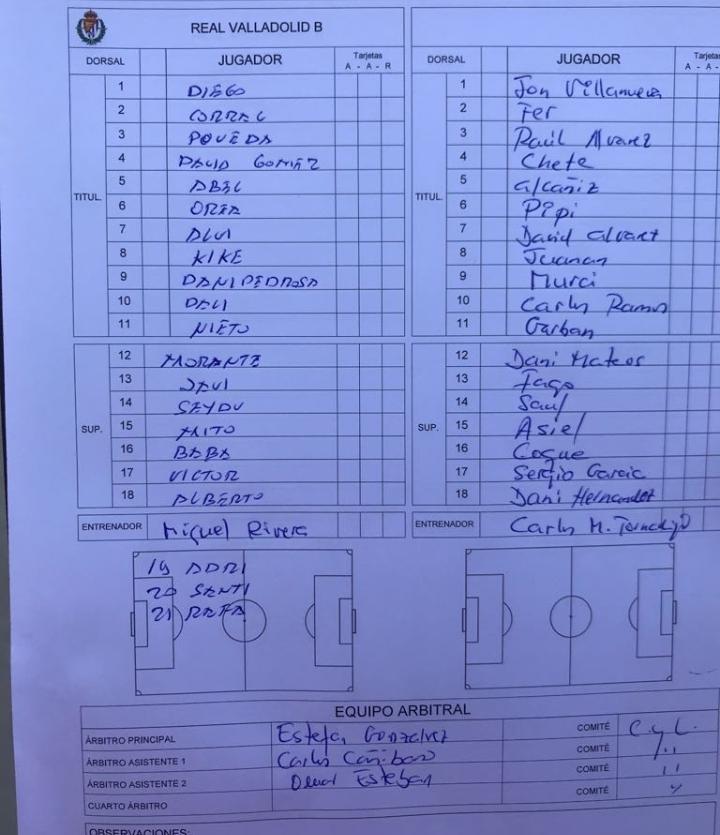 Real Valladolid B - Temporada 2018/19 - 2ª División B - Página 7 Screen18
