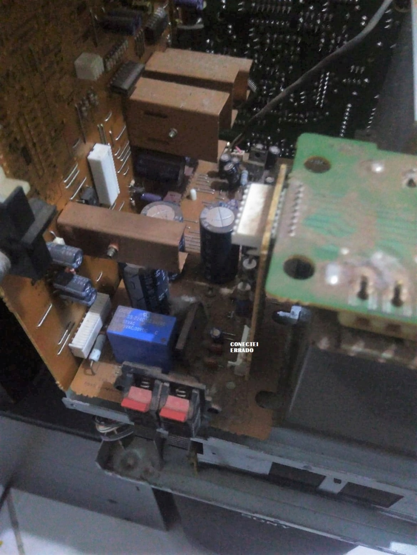 mini system Sony hcd-c33 - não funciona 65557711