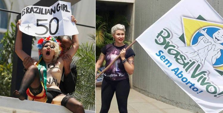 Sara Winter fue una feminista radical..... 2antif10