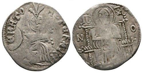 Dinar serbe coupé de Stefan Uros IV Dusan, en tant qu'empereur 3611