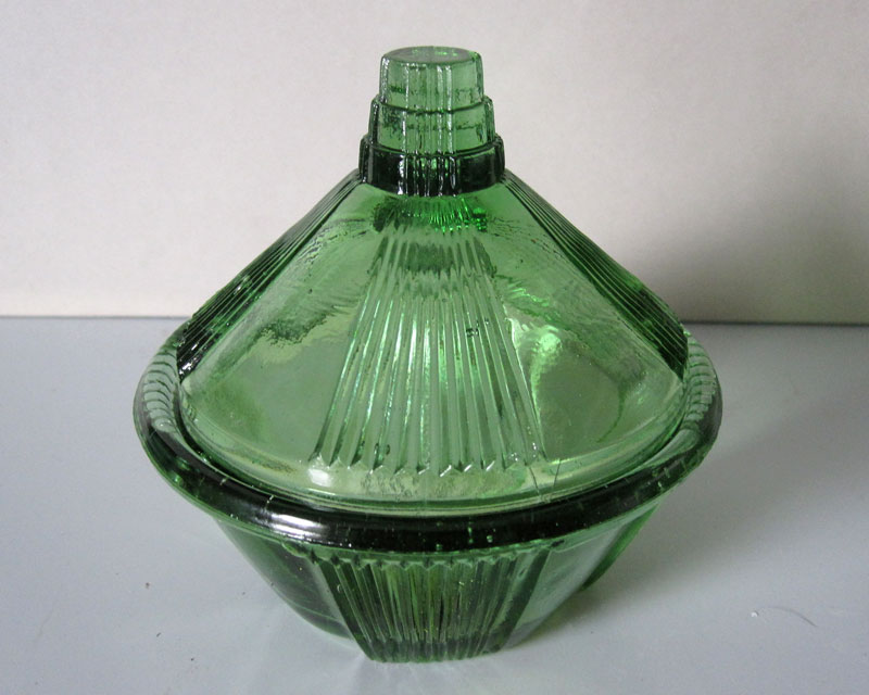 Anyone recognise this green pressed glass? Greeng12