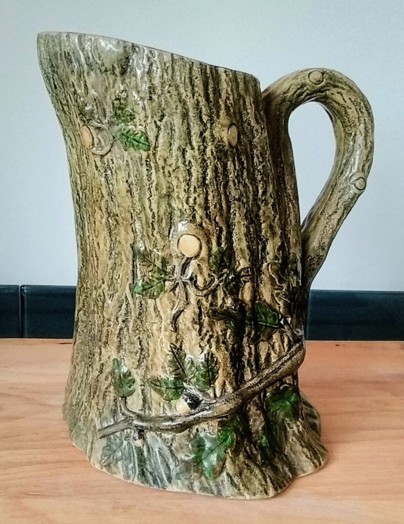 Victorian? tree trunk jug Img_2056