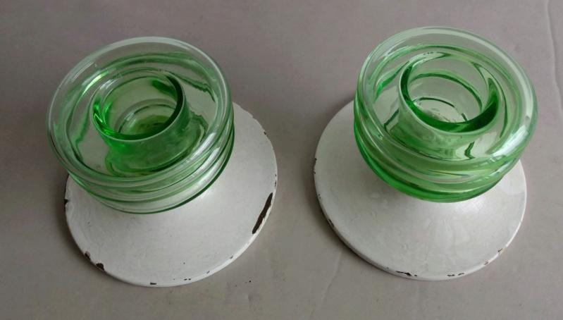 Uranium glass candle holders Img_2113