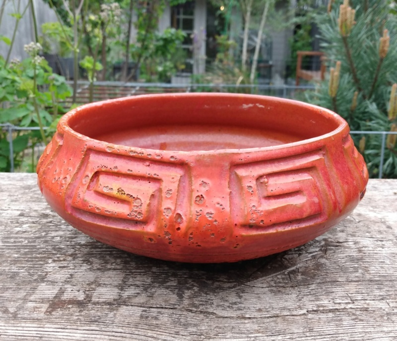 Red low bowl - better pics Img_2166