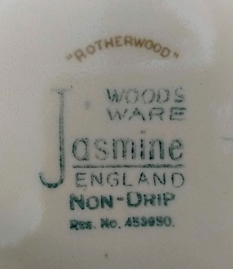 Anyone know anything about Woods Ware patterns? Img_2192