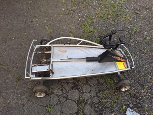 Aluminum go cart Img_3110