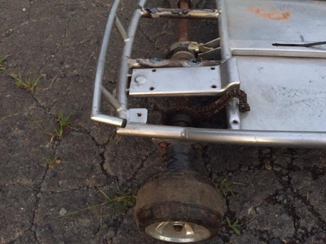 Aluminum go cart Img_3111