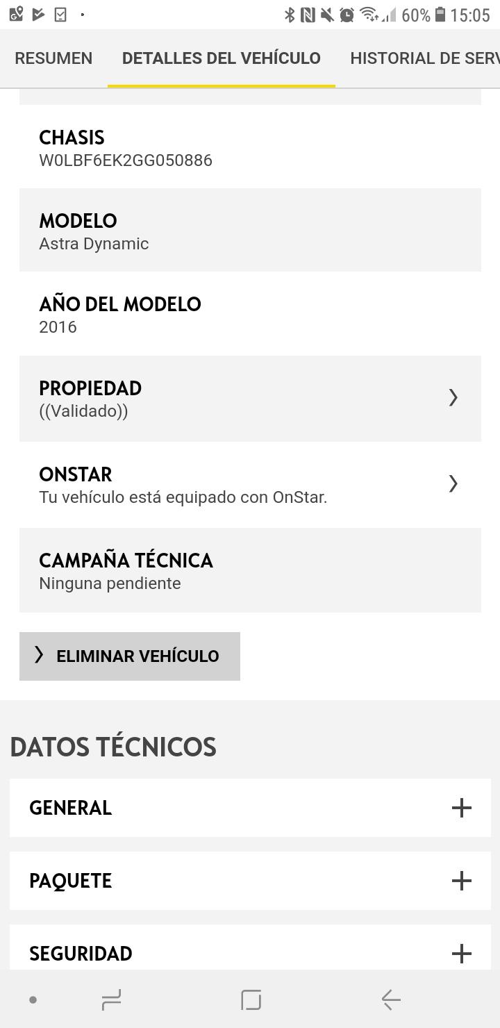 Actualización App MyOpel Screen10