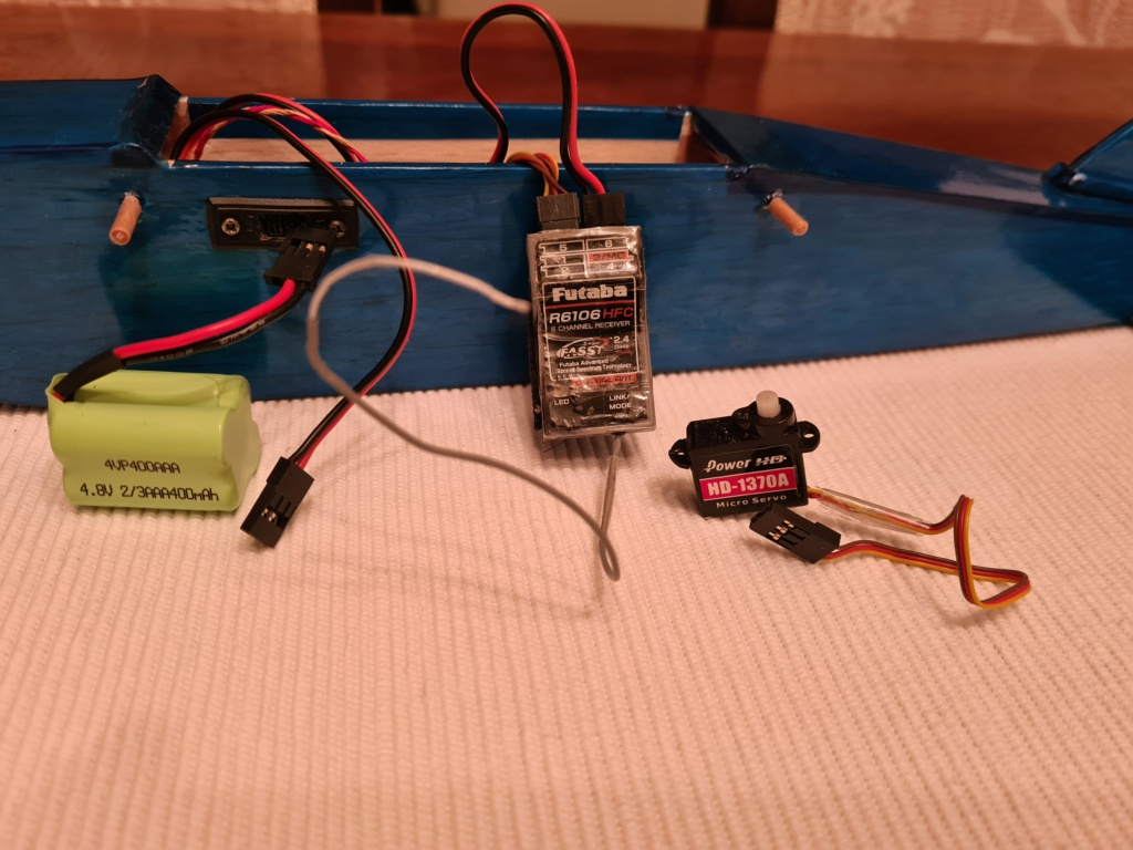 RC plane for TeeDee 010 and 020 engines 16005410