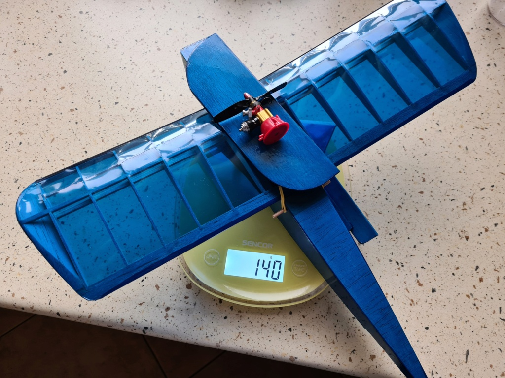 RC plane for TeeDee 010 and 020 engines 20200913
