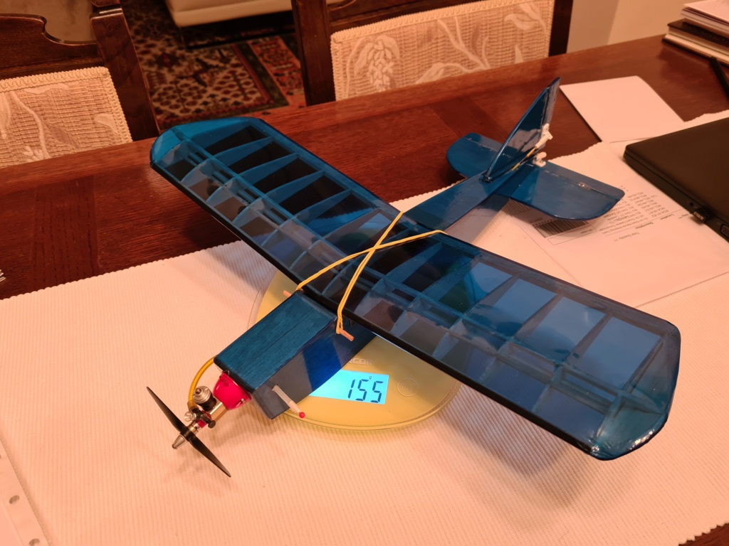 RC plane for TeeDee 010 and 020 engines 20200914