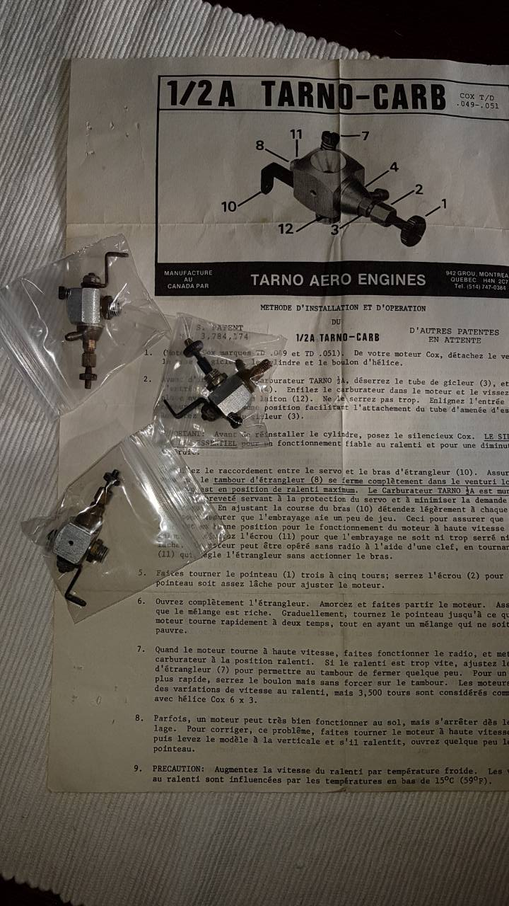 Tarno carbs arrived 3tarno11