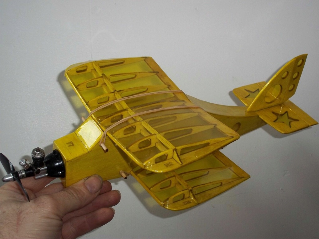 RC plane for TeeDee 010 and 020 engines _5710
