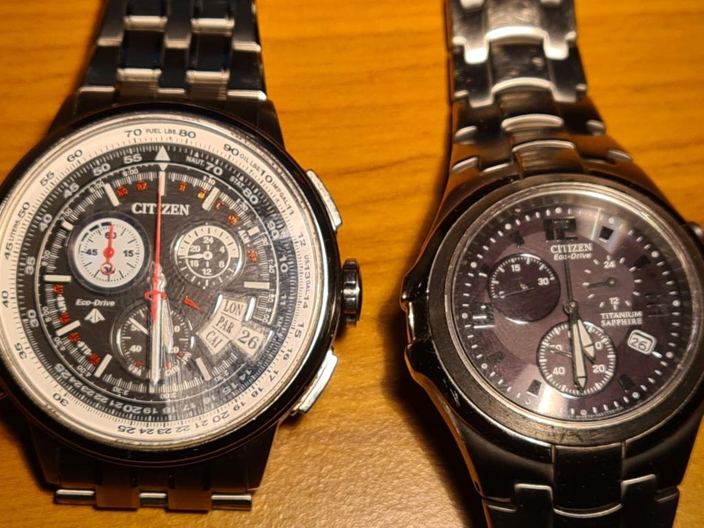 Watches.......Not a Rolex but it's still ticking err pulsing  Citize10