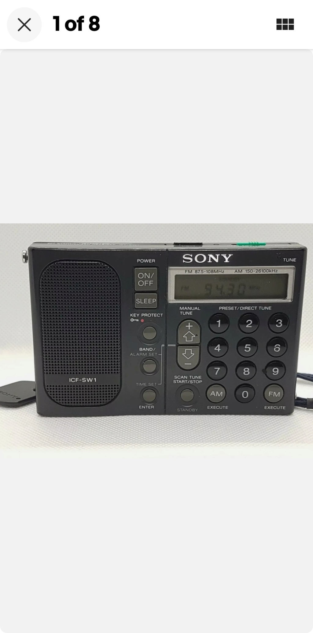 """And Yet, MORE """"Flea Marketing""""...And Our First Radios! Screen38"""