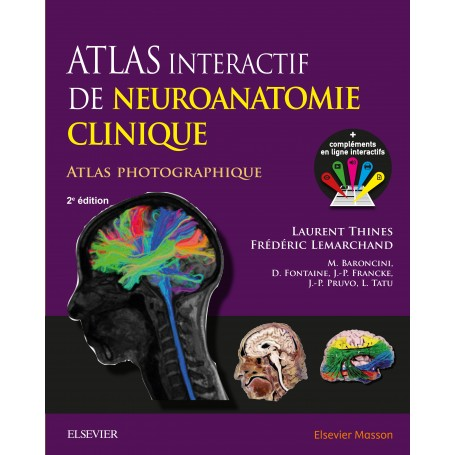 Atlas interactif de neuroanatomie clinique 2 édition  Atlas-10