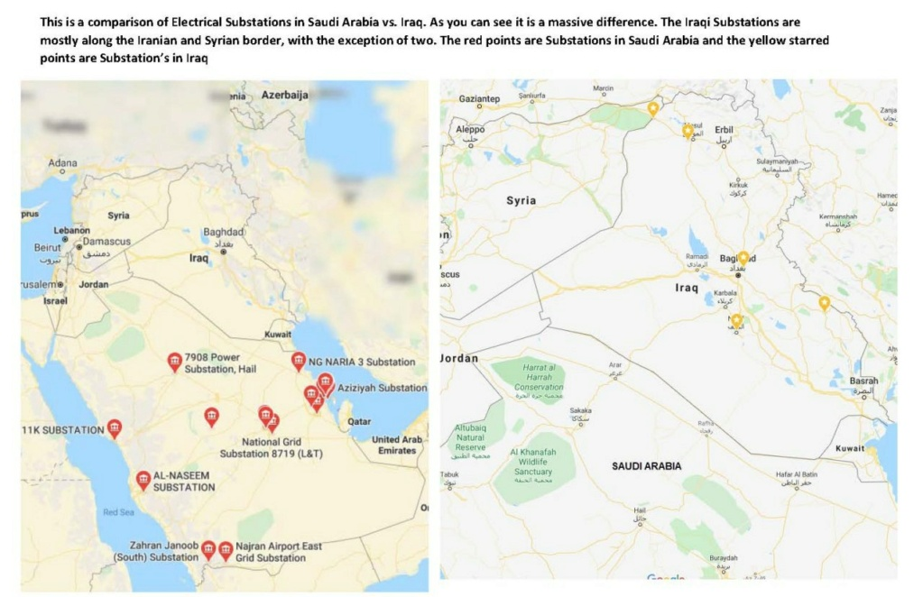 Iraq Electrical Independence Part-1 Map110