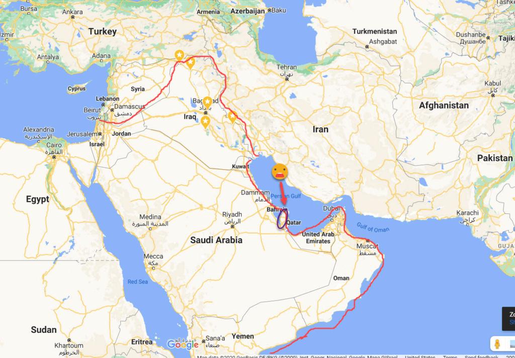 A Distinct Separation is Evident Qatar11