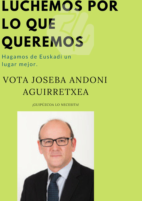 Partido Nacionalista Vasco|¡Unidos por Euskadi! Andoni10