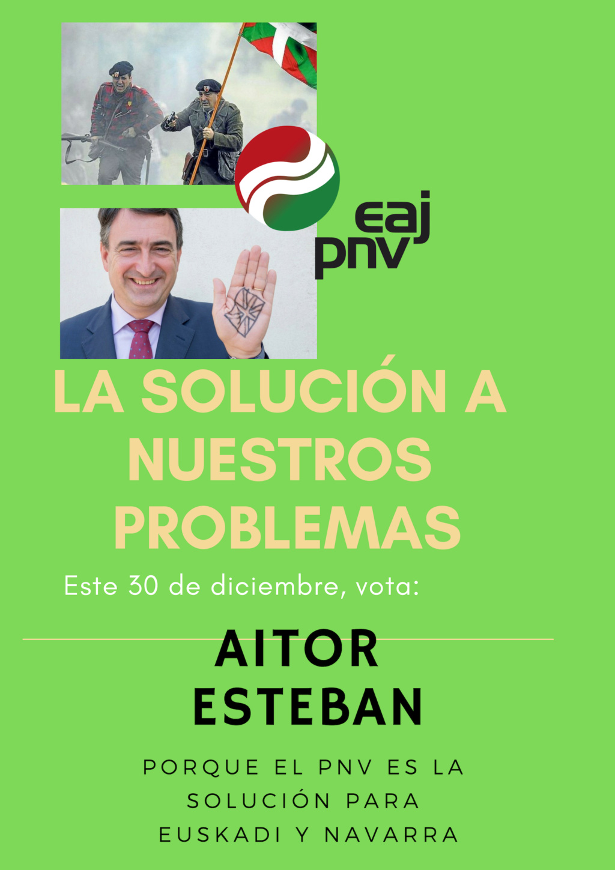 Partido Nacionalista Vasco|¡Unidos por Euskadi! Disezo12