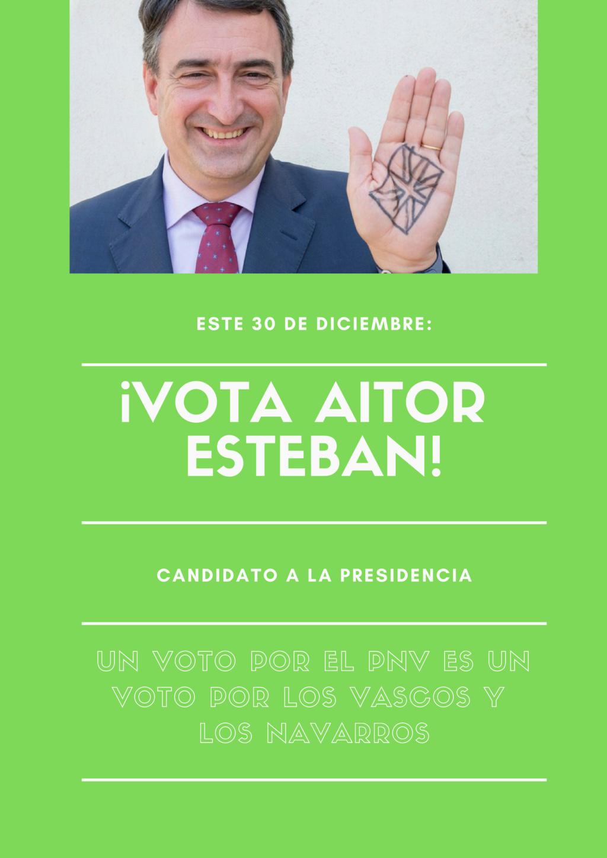 Partido Nacionalista Vasco|¡Unidos por Euskadi! Partid10