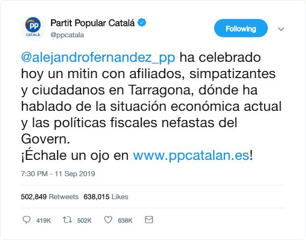 @populares | Twitter Oficial del PP y sus principales políticos Pp_twe19