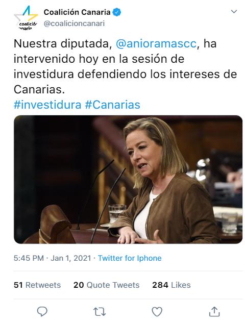 COALICIÓN CANARIA | REDES SOCIALES  Tweet_21