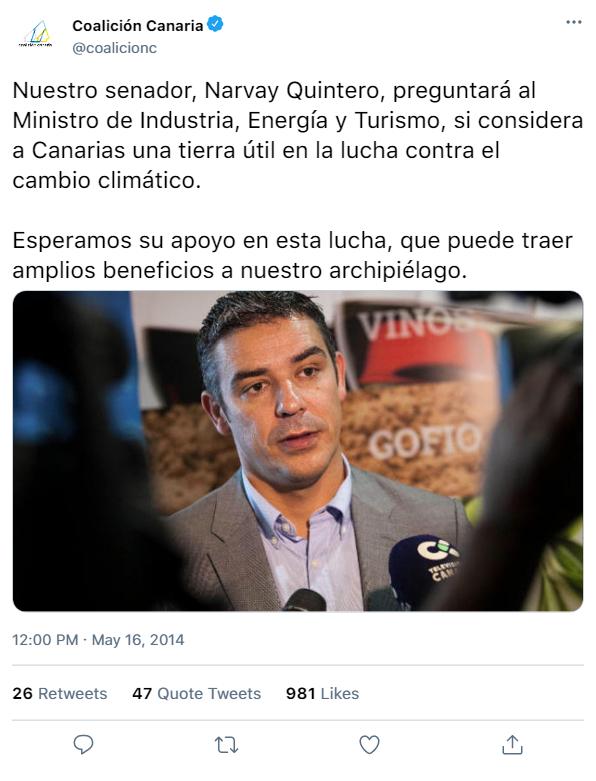 COALICIÓN CANARIA   REDES SOCIALES  Tweet_23