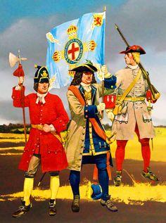 Hussards Von Rattsky  1708 - Appel à spécialistes en uniformologie .... 378de610