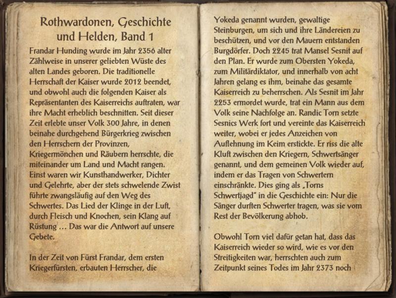 [Ingame Buch] Rothwardonen, Geschichte und Helden, Band 1-3 Rothwa10
