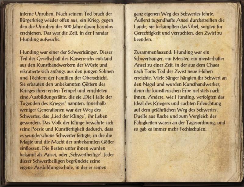 [Ingame Buch] Rothwardonen, Geschichte und Helden, Band 1-3 Rothwa11